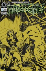 American Mythology's Monster Men: Heart of Wrath Issue # 2b