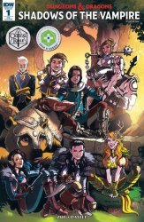 IDW Publishing's Dungeons & Dragons Issue # 1re