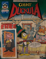 Celebrity Comics's Count Duckula Issue # 5