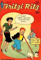 United Features Syndicate's Fritzi Ritz Issue # 34