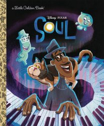 Golden Books 's Disney / Pixars: Soul Hard Cover # 1