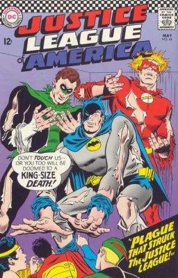 Justice league america comic book