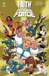 Valiant Entertainment's Faith and The Future Force TPB # 1