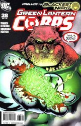DC Comics's Green Lantern Corps Issue # 38