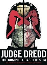 Rebellion's Judge Dredd: The Complete Case Files - Simon & Shuster Edition TPB # 14