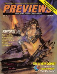 Diamond Comics Distribution's Previews Issue # 83