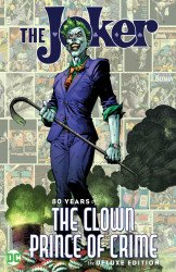 DC Comics's The Joker: 80 Years Of The Clown Prince Of Crime Hard Cover # 1