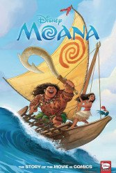 Dark Horse Comics's Disney Moana: Story of the Movie in Comics Hard Cover # 1