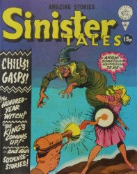 Alan Class & Company's Sinister Tales Issue # 145