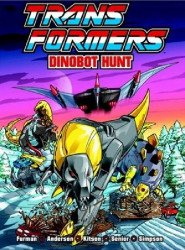 Titan Books's Transformers: Dinobot Hunt TPB # 1