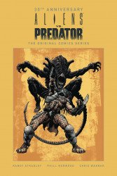 Dark Horse Comics's Aliens vs Predator Hard Cover # 1-30th ann