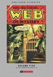 PS Artbooks's Pre-Code Classics: Web of Mystery Hard Cover # 5