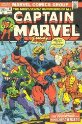 Marvel Comics's Captain Marvel Issue # 31