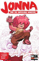 Oni Press's Jonna and the Unpossible Monsters Issue # 1-2nd print