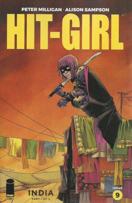 HIT GIRL #4 NEAR MINT 1st PRINT REGULAR COVER