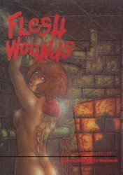 Diva Graphix's Flesh Wounds Soft Cover # 1