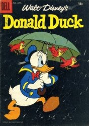 Dell Publishing Co.'s Donald Duck Issue # 58b