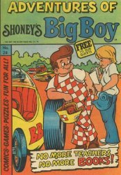 Paragon Products's Adventures of Shoney's Big Boy Issue # 28