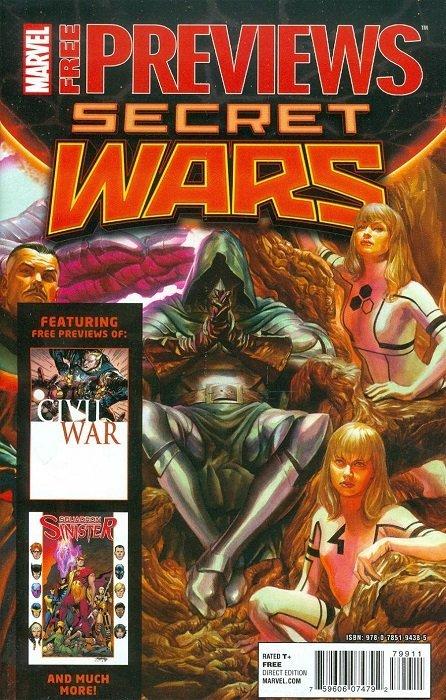 Marvel - Secret Wars #7 (of 9) (2015) - Bianchi Variant Cover - NM - REDUCED!!