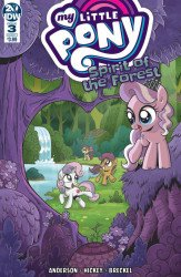 IDW Publishing's My Little Pony: Spirit Of The Forest Issue # 3