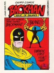Major-Minor Productions's Chiro Comix: Backman, Agent of Balance Issue # 1