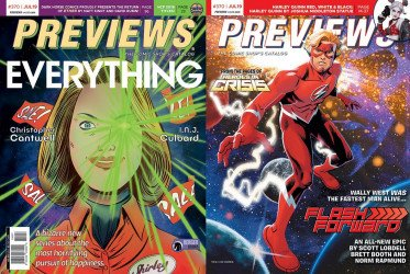 Diamond Comics Distribution's Previews Issue # 370