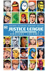 DC Comics's Justice League International Omnibus Hard Cover # 2