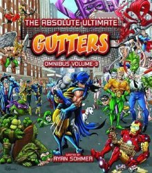 Blind Ferret Entertainment's The Absolute Ultimate Gutters Omnibus Hard Cover # 3