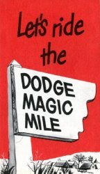 Chrysler Motor Corp.'s Let's Ride the Dodge Magic Mile Issue nn