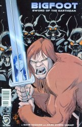 Action Lab Entertainment's Bigfoot: Sword of the Earthman Issue # 3b