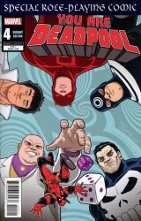 Marvel Comics's You Are Deadpool Issue # 4b