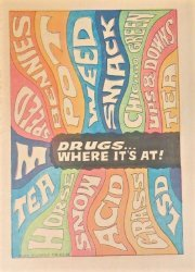 Fitzgerald Publishing Company's Drugs...Where it's At! Issue nn
