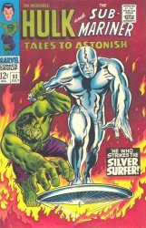 Marvel Comics's Tales to Astonish Issue # 93