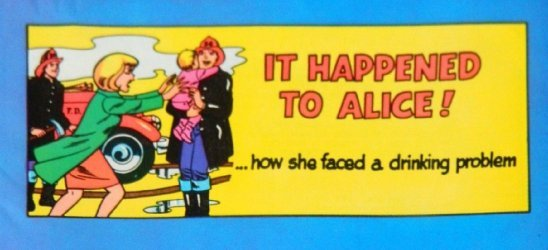 Alcoholics Anonymous's It Happened to Alice! Issue nn