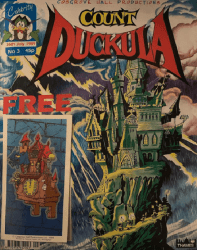 Celebrity Comics's Count Duckula Issue # 3
