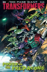 IDW Publishing's Transformers 100-Page Giant: Power of the Predacons Giant Size # 1