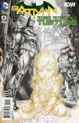 DC Comics's Batman / Teenage Mutant Ninja Turtles Issue # 4d
