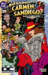 DC Comics's Where in the World is Carmen Sandiego? Issue # 1b