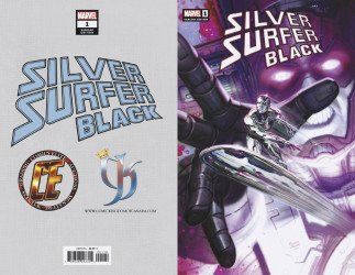Marvel Comics's Silver Surfer: Black Issue # 1ce/ck