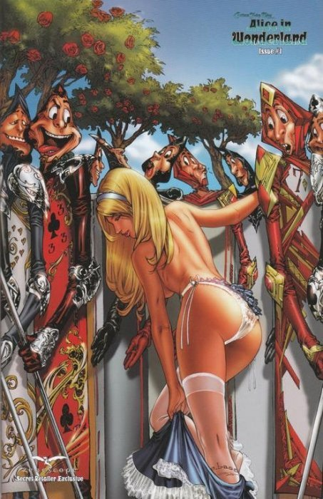 Grimm Fairy Tales Presents Alice In Wonderland Issue 1 Zenescope Entertainment Inc
