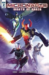 IDW Publishing's Micronauts: Wrath of Karza Issue # 2