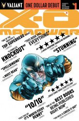 Valiant Entertainment's X-O Manowar Issue # 1dollar debut-b