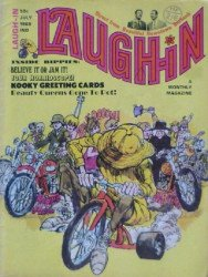 Laufer Publishing Co.'s Laugh-In Magazine Issue # 9