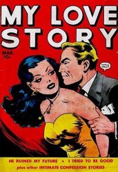 Fox Feature Syndicate's My Love Story Issue # 4