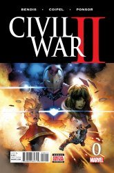 Marvel's Civil War II Issue # 0