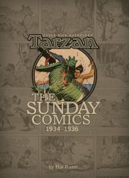 Dark Horse's Edgar Rice Burroughs' Tarzan - Sunday Comics Hard Cover # 2