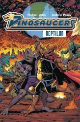 Lion Forge Comics's Dinosaucers TPB # 1