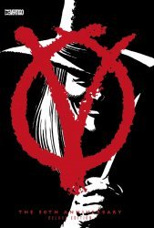 DC Comics's V for Vendetta Hard Cover # 1-30th annv