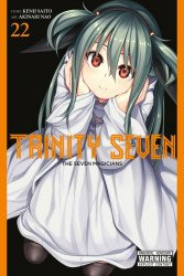 Yen Press's Trinity Seven: The Seven Magicians Soft Cover # 22