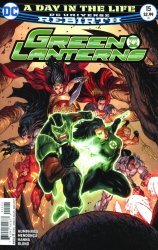 DC Comics's Green Lanterns Issue # 15